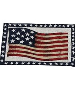 """Set of 4 Tapestry Placemats, 13"""" x 19"""" PATRIOTIC, AMERICAN USA FLAG, JUL... - $19.79"""