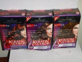 Schwarzkopf Keratin Color Intense Color - Permanent Hair Dye - Choose Color - $8.99