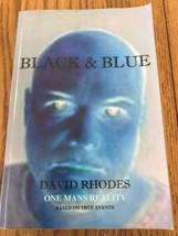 Schwarz & Blau David Rhodes Eins Herren Reality Beruhend auf True … Tasc... - $31.83