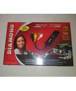Diamond One Touch Video Capture VC500 USB 2.0 Capture Stream & Share Bur... - $55.43