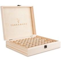 Essential Oil Case/Box by Terramore. Large 68 Bottle Storage Organizer. ... - $27.14