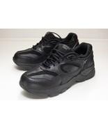 Aetrex Size 10 W Black X801 Walking Shoes Men's - $64.00