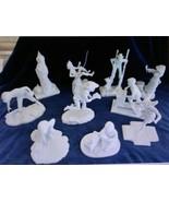 """Rare """"76"""" Norman Rockwell JOYS OF CHILDHOOD Franklin Porcelain Sculpture... - $1,485.00"""