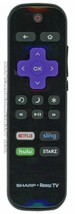 Sharp LCRCRUDUS18 (p/n: LCRCRUDUS18) Tv Remote Control (Refurbished) - $13.85