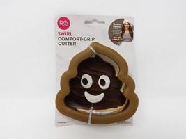 Ro Swirl Comfort-Grip Emoji Poop Cookie Cutter  - $9.99