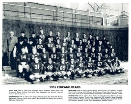 1955 CHICAGO BEARS 8X10 TEAM PHOTO FOOTBALL NFL PICTURE - $3.95