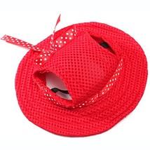 Petfellow Pet Cap Dog Hat Dog Sun Visor Princess Hat Adjustable Chin Str... - $9.93