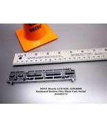 SONY Bravia LCD KDL-32M4000 Keyboard Button Flex Plate Unit Serial #4109572 - $10.35