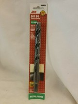 "Ace 13/32"" 2000677 Black Oxide Heavy Duty Drill Bit - $7.42"