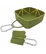 iKaboodle FoldaBowl Dog Travel Bowl. Folding Single Silicone Portable Bo... - $19.99