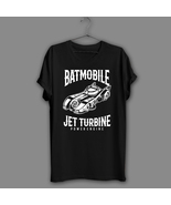 Bat Mobile Black T-Shirt funny Knight Shirt Garage Car Navy Tee jet Powe... - $17.99