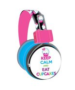 SWAGG SWHP-BA-CAKES Bling Cupcake Headphones with Mic - $19.59