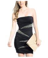 Nikibiki Strapless Embellished Mini Dress - $16.99
