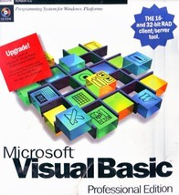 Microsoft Visual Basic Professional Edition Upgrade, Version 4.0 (with C... - $98.99