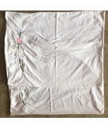 Vintage Imperial Elegance Standard Sham Pillowcase Embroidered Cut Work ... - $29.95