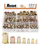 """Rustark 220-Pcs Assort 8-32UNC 10-24UNC 1/4""""-20UNC 5/16""""-18UNC 3/8""""-16UN... - $23.24"""