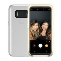 Incipio Lux Brite Light-Up Selfie Case for Samsung Galaxy S8+ Rose Pink NEW - $9.99