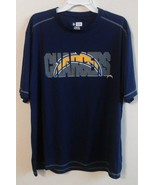 San Diego Chargers Team Apparel TX3 Cool Shirt XL NWOT--Mannequin Model--EUC - $15.00
