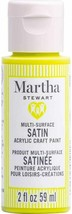 Martha Stewart Crafts Multi-Surface Satin Acrylic Paint, 2 oz, CATERPILLAR - $9.89