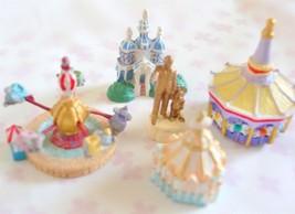 Disney parade Fantasyland Miniature Diorama Parts Set Resin Figure Partn... - $34.65
