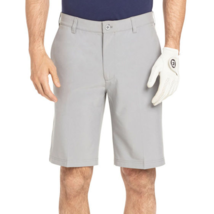 IZOD Men's Moisture Wicking Golf Shorts Size 42 Gray Swing Flex UPF 40 - $34.64