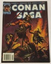 Conan Saga 44 (Marvel Comics, Magazine Sized) Newsstand Edition FN Condi... - $3.95