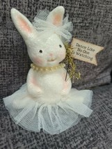 Michelle Allen Bethany Lowe Ballerina Bunny Rabbit Dance Like No one is ... - $23.99