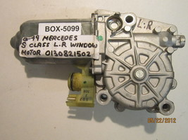 92 93 94 95 96 97 98 99 Mercedes S-CLASS Fensterhebermotor #0130821502 - $74.09