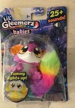 Lil' Gleemerz Lilac Baby 25+ Sounds Tummy Lights Up Brand New - $13.99