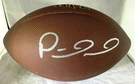 PATRICK MAHOMES / AUTOGRAPHED FULL SIZE NFL LOGO WILSON BRAND FOOTBALL / COA
