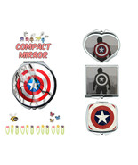 Captain America Avengers makeup mirror compact mirror purse mirror trave... - $11.99
