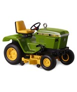 John Deere 318 Garden Tractor - 2016 Hallmark Ornament - Farming - Green Yellow - $21.48