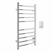 WarmlyYours – Metropolitan Hardwired Towel Warmer in Polished Stainless ... - ₹42,617.58 INR
