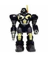 M.A.R.S. Motorized Walking Cyber Bot Attack Robot Dark Blue w/Bronze/gol... - $18.99
