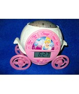 Cinderella Coach Clock With Alarm - Ceiling Stars - Music - $24.74