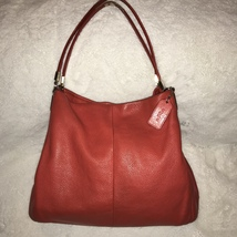 COACH Red Leather Bag - $90.00