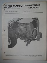 Gravely Tractors Walker Kick Stand operator's manual and illustrated par... - $6.55