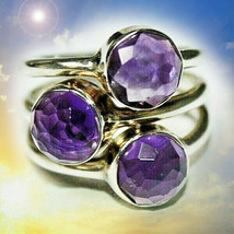 HAUNTED RING QUEEN'S SHOWER OF STARS ILLUMINATED WORLD EXTREME MAGICK  - $188.89