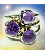 HAUNTED RING QUEEN'S SHOWER OF STARS ILLUMINATED WORLD EXTREME MAGICK  - $377.77