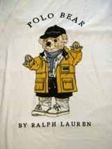 Vintage Polo Ralph Lauren Bear Beach Towel Raincoat 90's Large Terry - $29.70