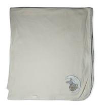 VTG Carter's Yellow Baby Blanket Moon Dog Bunny Rabbit Lovey 100% Cotton - $39.59