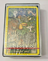 reid park zoo Tucson, Ariz. Deck Playing Cards Made in Hong Kong  (#26) image 4