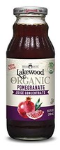 Lakewood Organic Concentrate Juice, Pomegranate, 12.5 Ounce Pack of 6