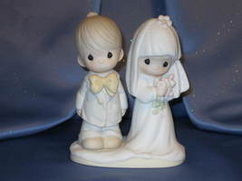 "Jonathan & David ""The Lord Bless You and Keep You"" Figurine by Enesco. - $32.00"