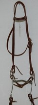 Courts Saddlery 110141 Leather Brow Bridle Curb Bit Reins Burgundy Color image 2