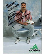 DALEY THOMPSON Autograph on Adidas advertising card. Decathalon Olympic ... - $17.82