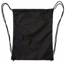 DC Shoes Co Laurel Crest Simpski Black/Pool Cinch Gym Bag backpack image 2