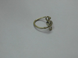 925 sterling Silver mount Ring, Round- 5.0 mm,RI-0295,ring,all size avai... - $9.50