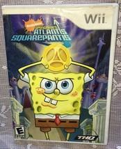 SpongeBob's Atlantis SquarePants (Nintendo Wii, 2007) COMPLETE=FAST FREE... - $11.28