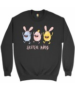 Easter King Sweatshirt Egg Tapping Happy Easter Holiday Jesus is Alive C... - $20.73+